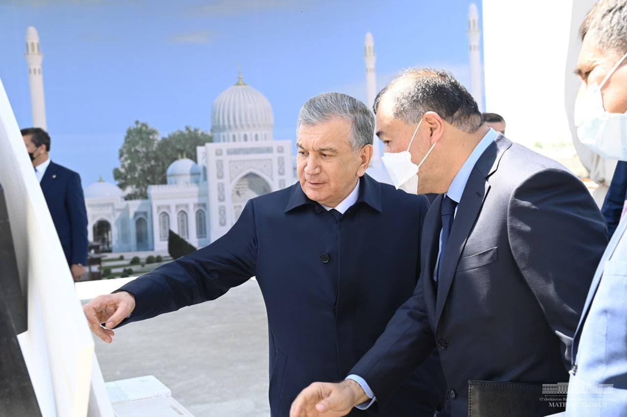 В Самарканде началось строительство новых объектов мемориального комплекса Имама Бухари