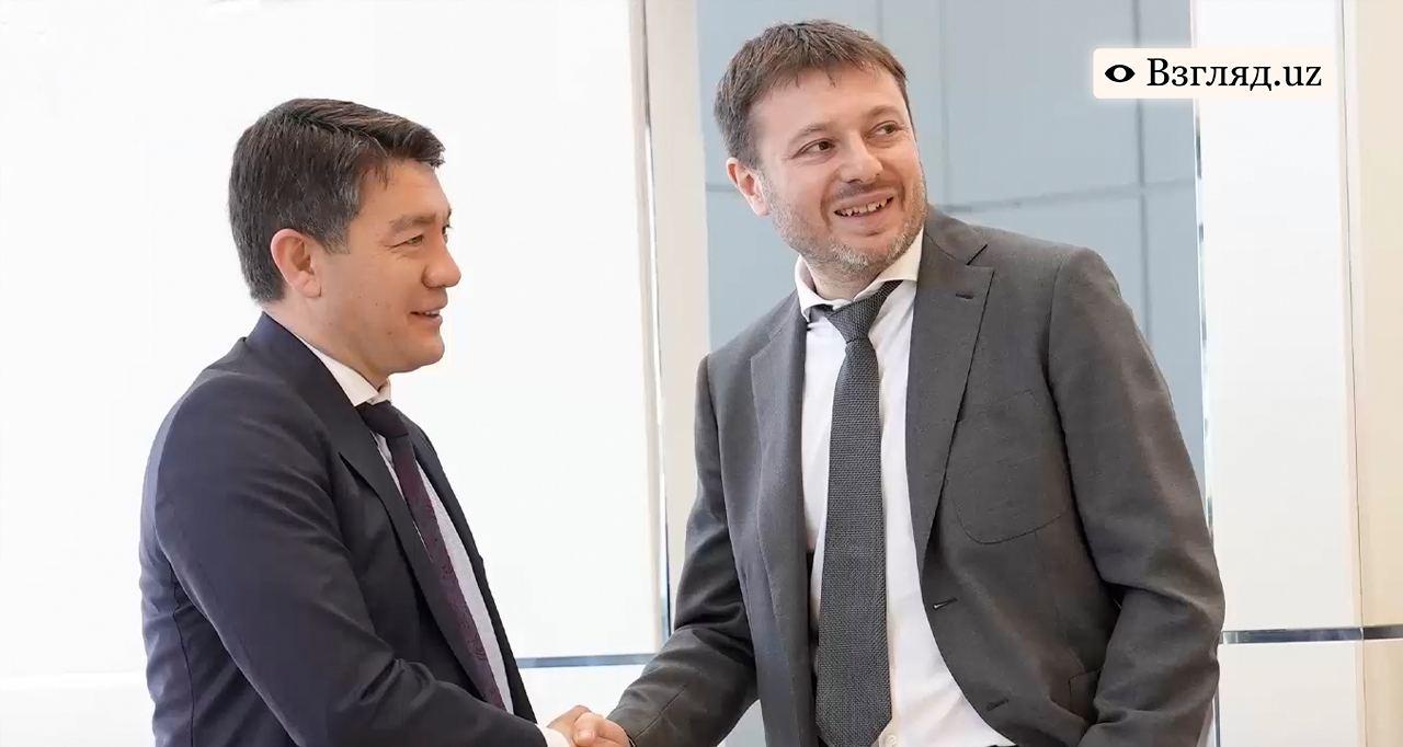 Председатели правления «Халк банка» и Совкомбанка рассказали об экономическом сотрудничестве — видео