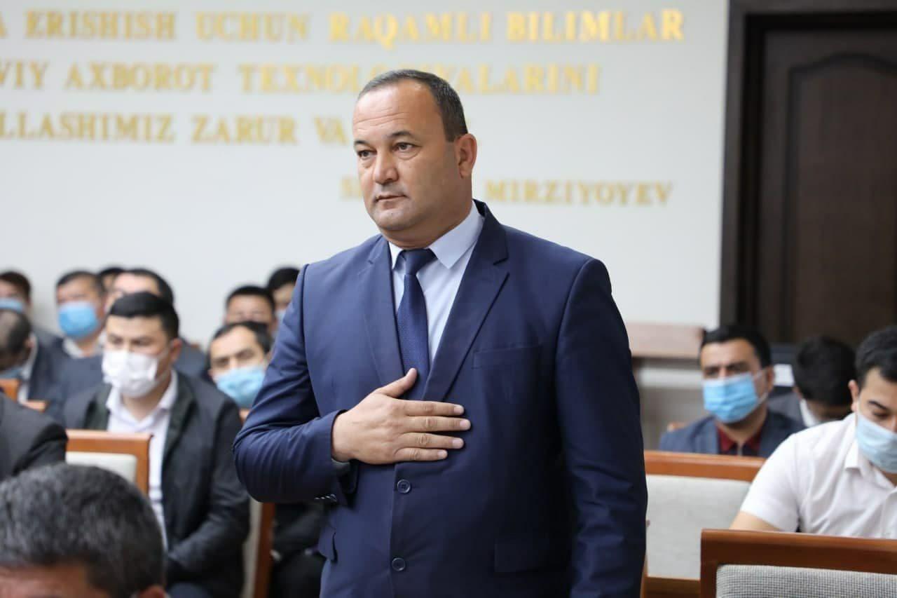 Илхом Сафаров назначен новым заместителем хокима Сурхандарьинской области