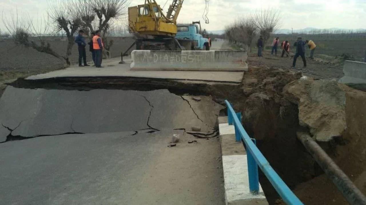 Обнародована причина крушения моста в Самаркандской области