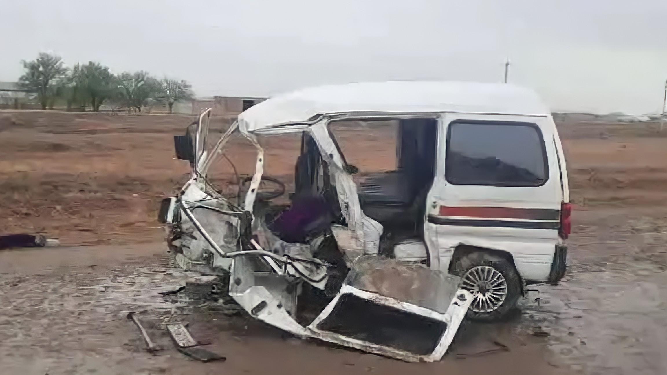 В Кашкадарье произошла смертельная авария с участием автомобилей Matiz и Damas