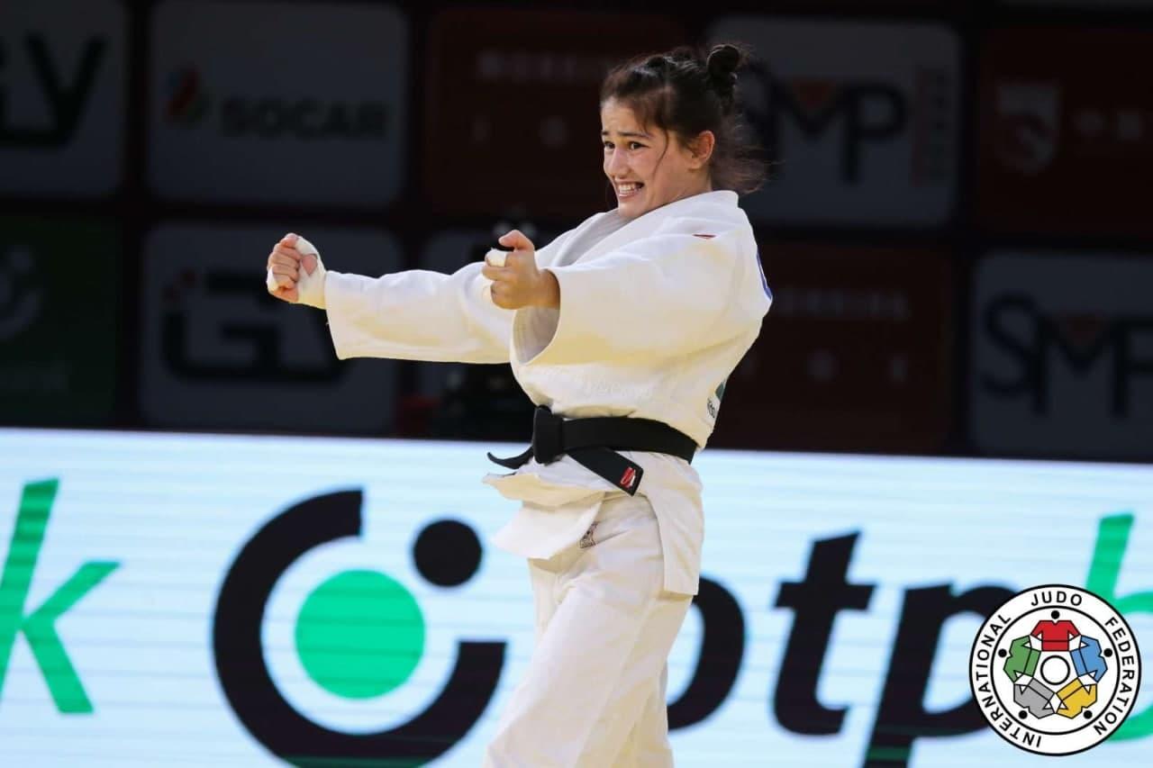 Узбекистанка завоевала золотую медаль на турнире по дзюдо