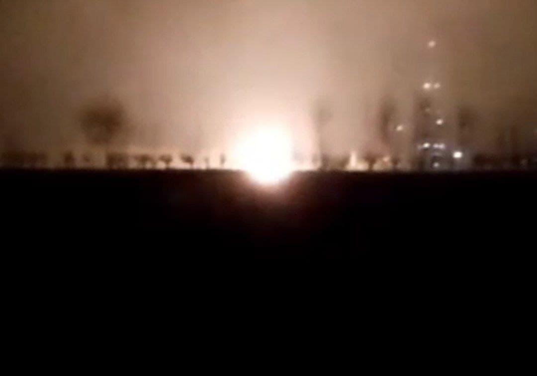 Произошел пожар на нефтяной скважине в Андижане — видео