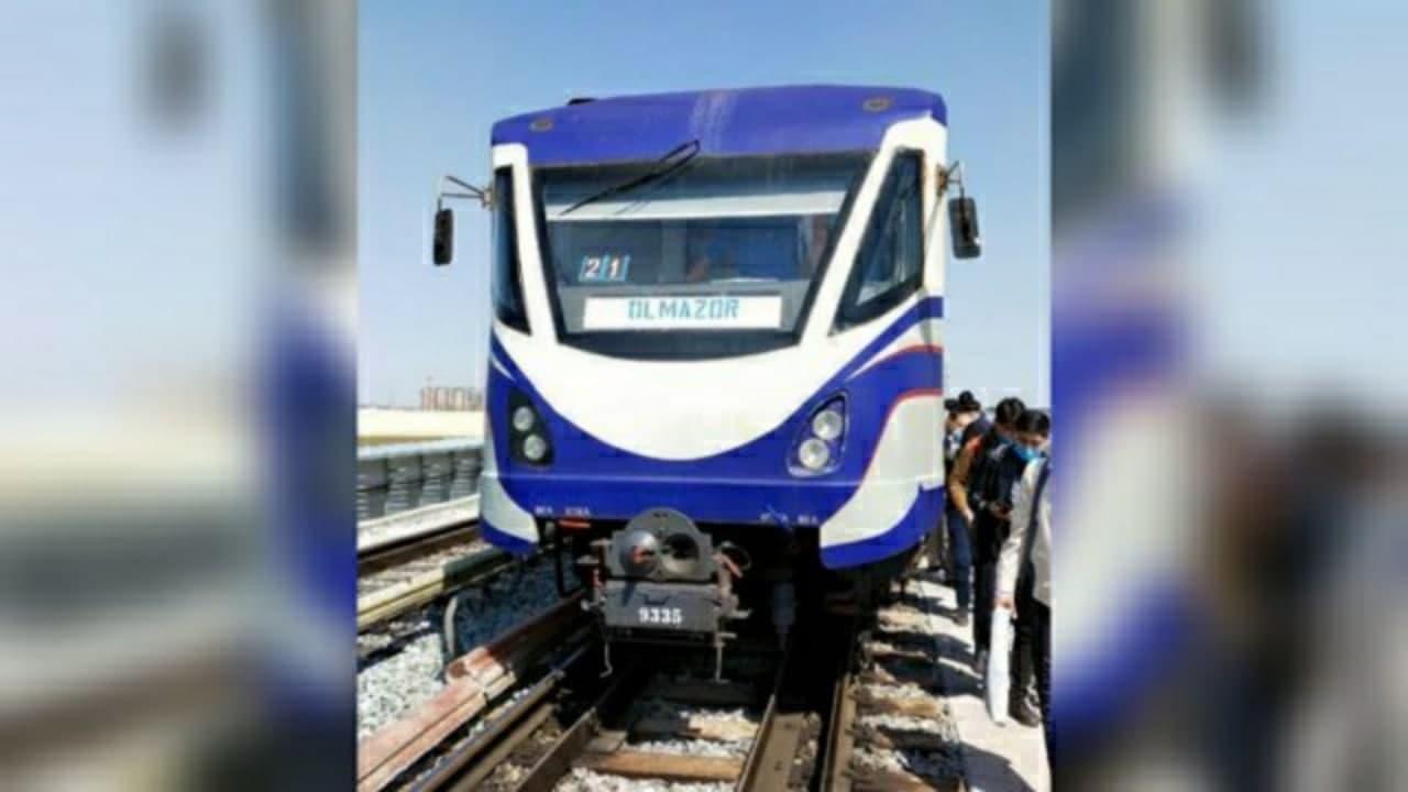Сергелийская ветка Ташкентского метро временно приостановила движение — видео
