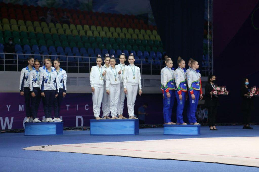 Впервые сборная Узбекистана заняла первое место в Кубке Мира по художественной гимнастике