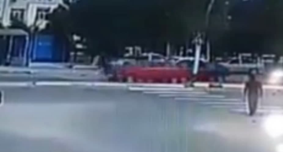 «Жигули» сбил 10-летную девочку в Самаркандской области – видео