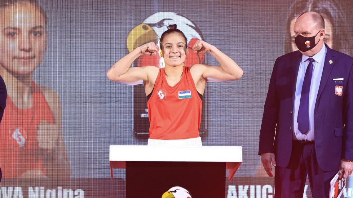 Впервые чемпионкой мира по боксу стала узбекистанка