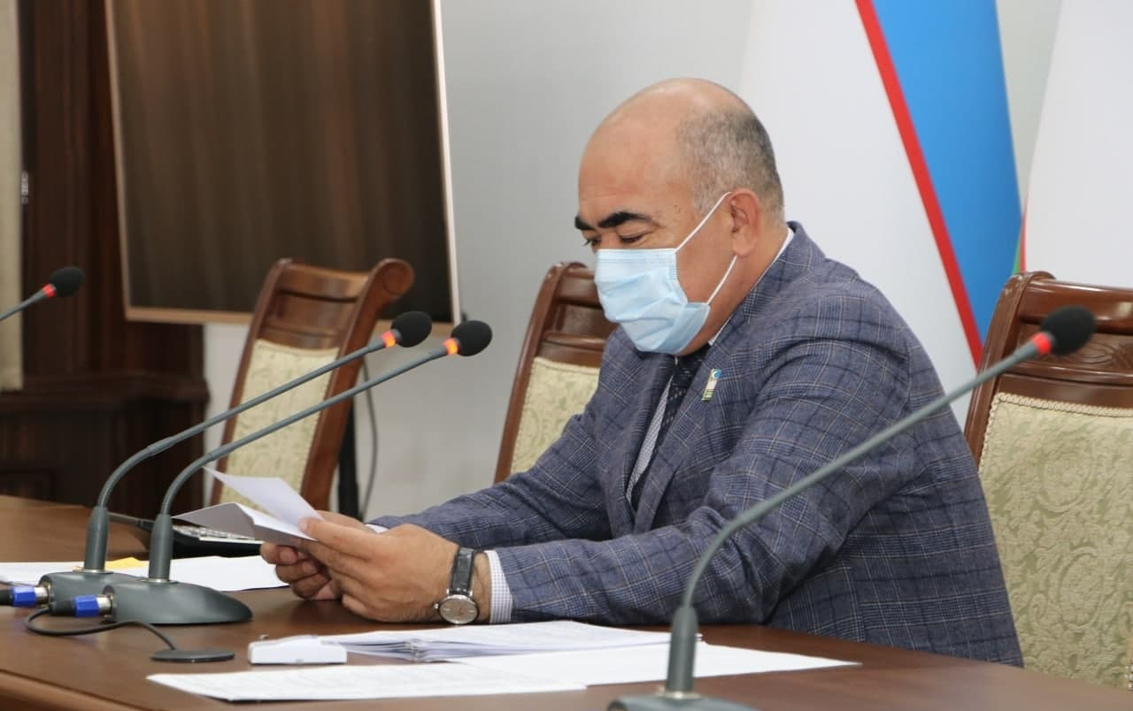 Хоким Кашкадарьинской области заболел коронавирусом