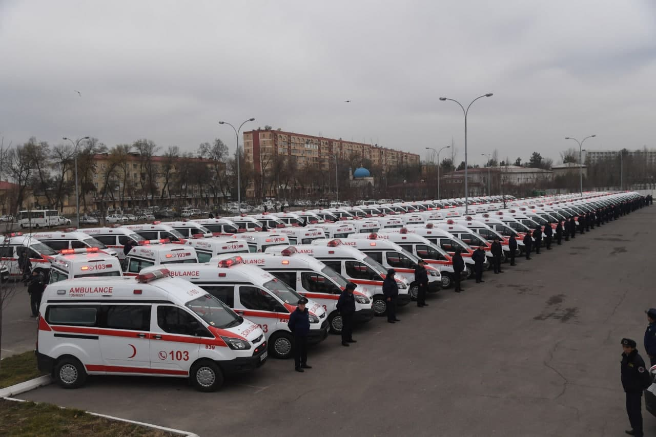 В Узбекистане вместо автомобилей Damas вскорой помощи будут реаномобили Ford