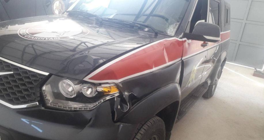В Ферганской области сотрудник Нацгвардии насмерть сбил пешехода