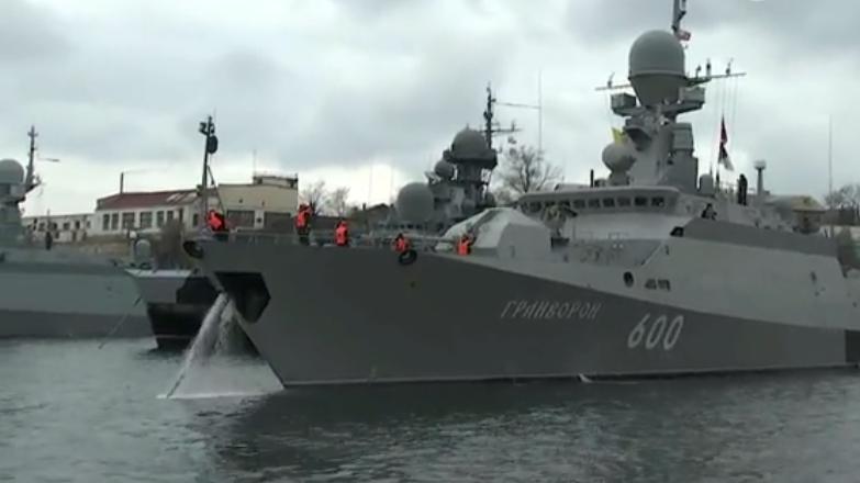 Военные корабли США и России вышли в Черное море