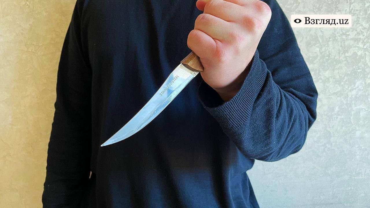 В Нукусе гражданин нанес смертельные ножевые ранения в спину девушки