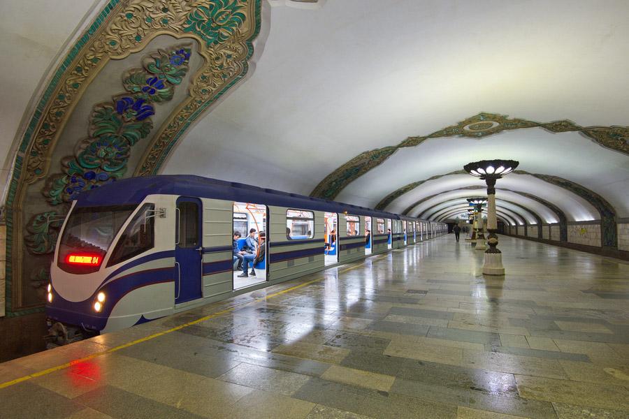 Узбекистан закупит 40 вагонов метро на сумму более 50 миллионов евро