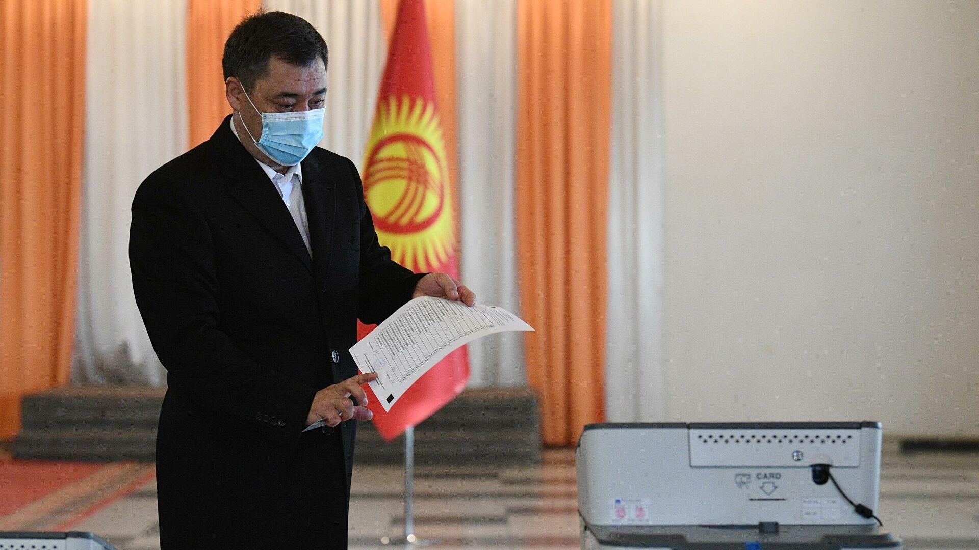 Впервые в Кыргызстане народу предоставят право выбрать форму правления