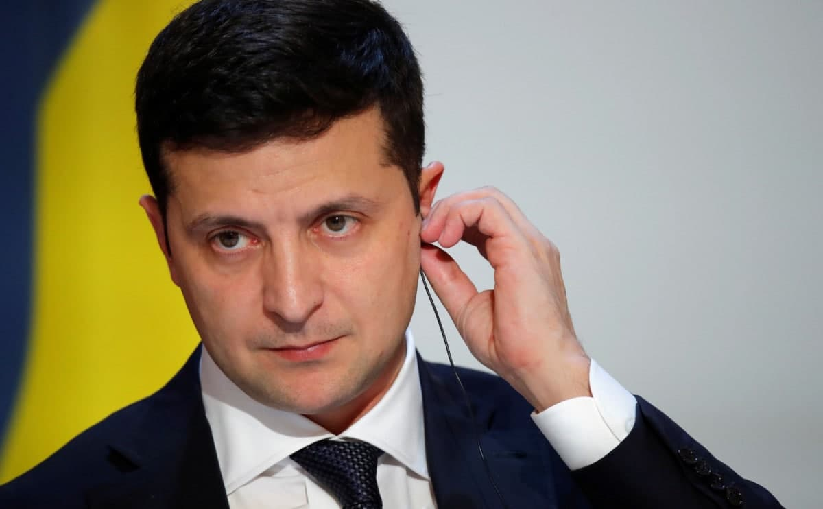 Президент Украины назвал вступление в НАТО единственным выходом для окончания конфликта в Донбассе