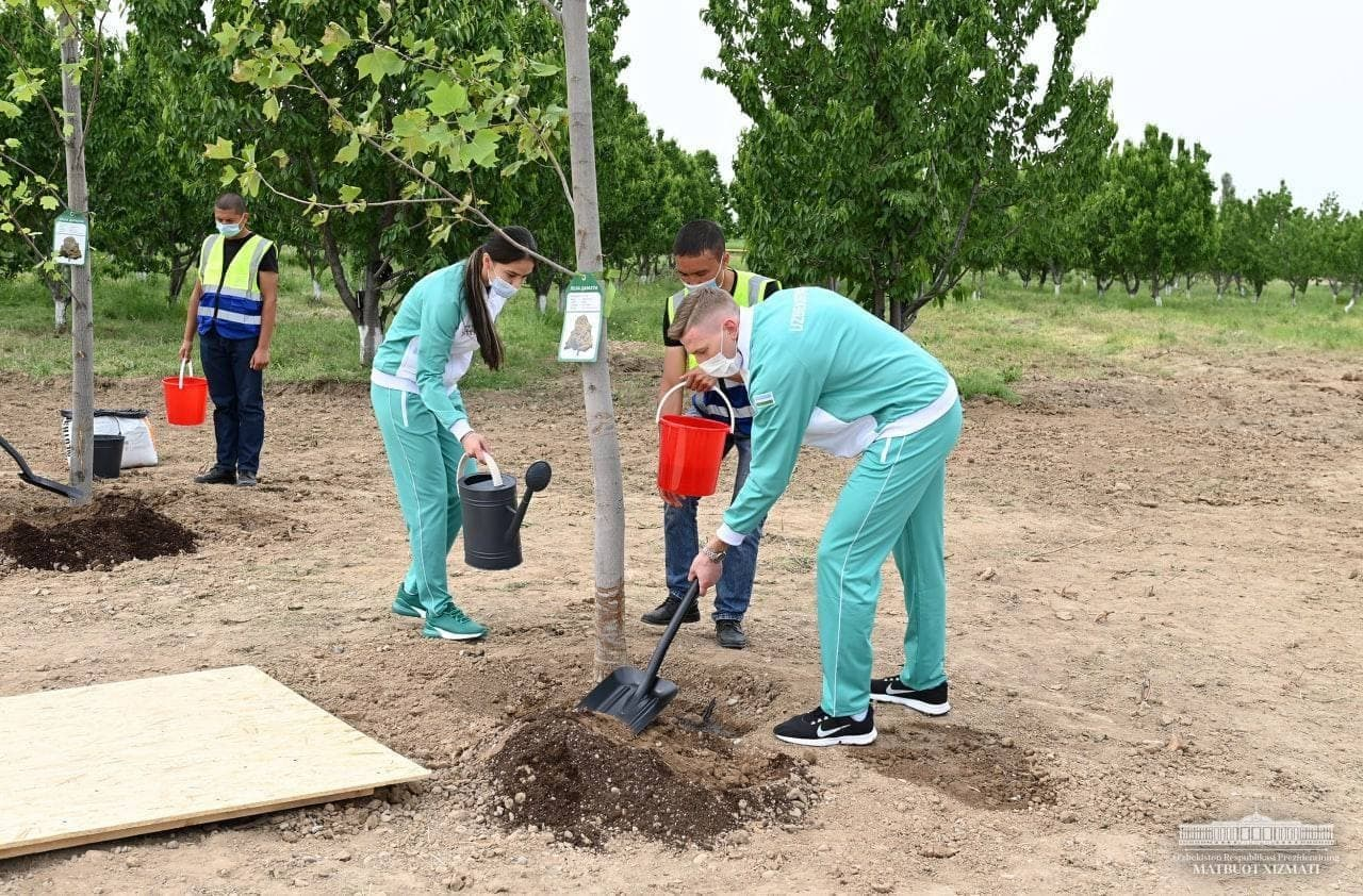 В Кибрайском районе построят новый парк с искусственным озером