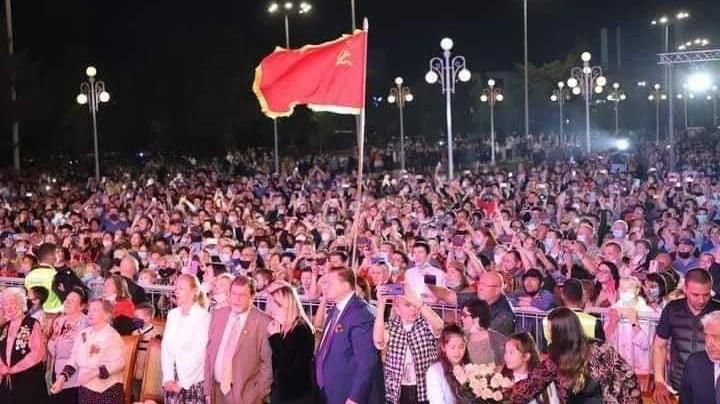 Партия «Миллий тикланиш» осудила поднятие флага СССР на концерте в Ташкенте