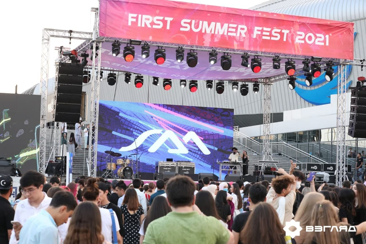 Жара по-ташкентски: как прошёл летний фестиваль First Summer Fest