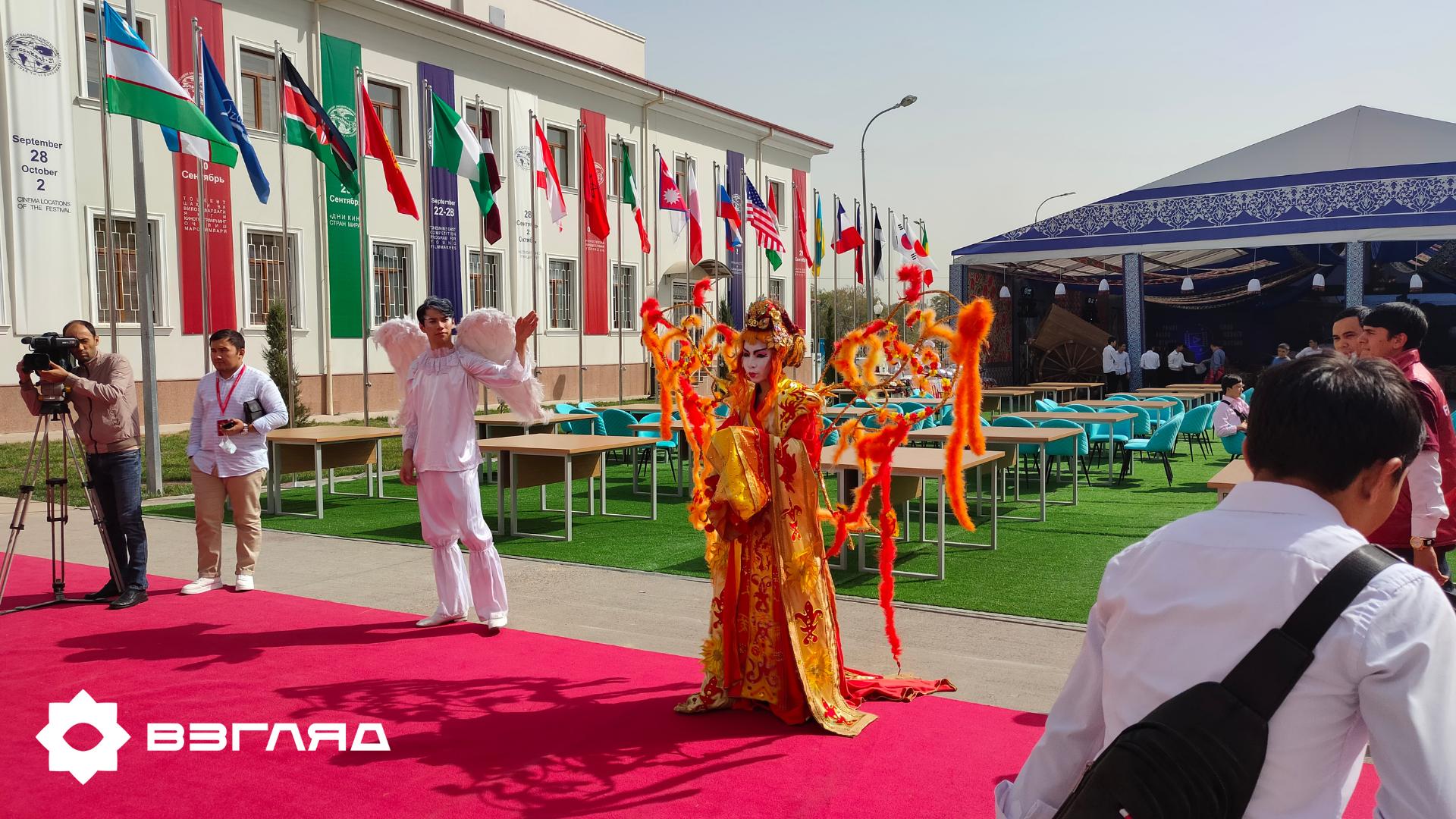 В Ташкенте 28 сентября прошло торжественное открытие международного кинофестиваля «Жемчужина Шелкового Пути»