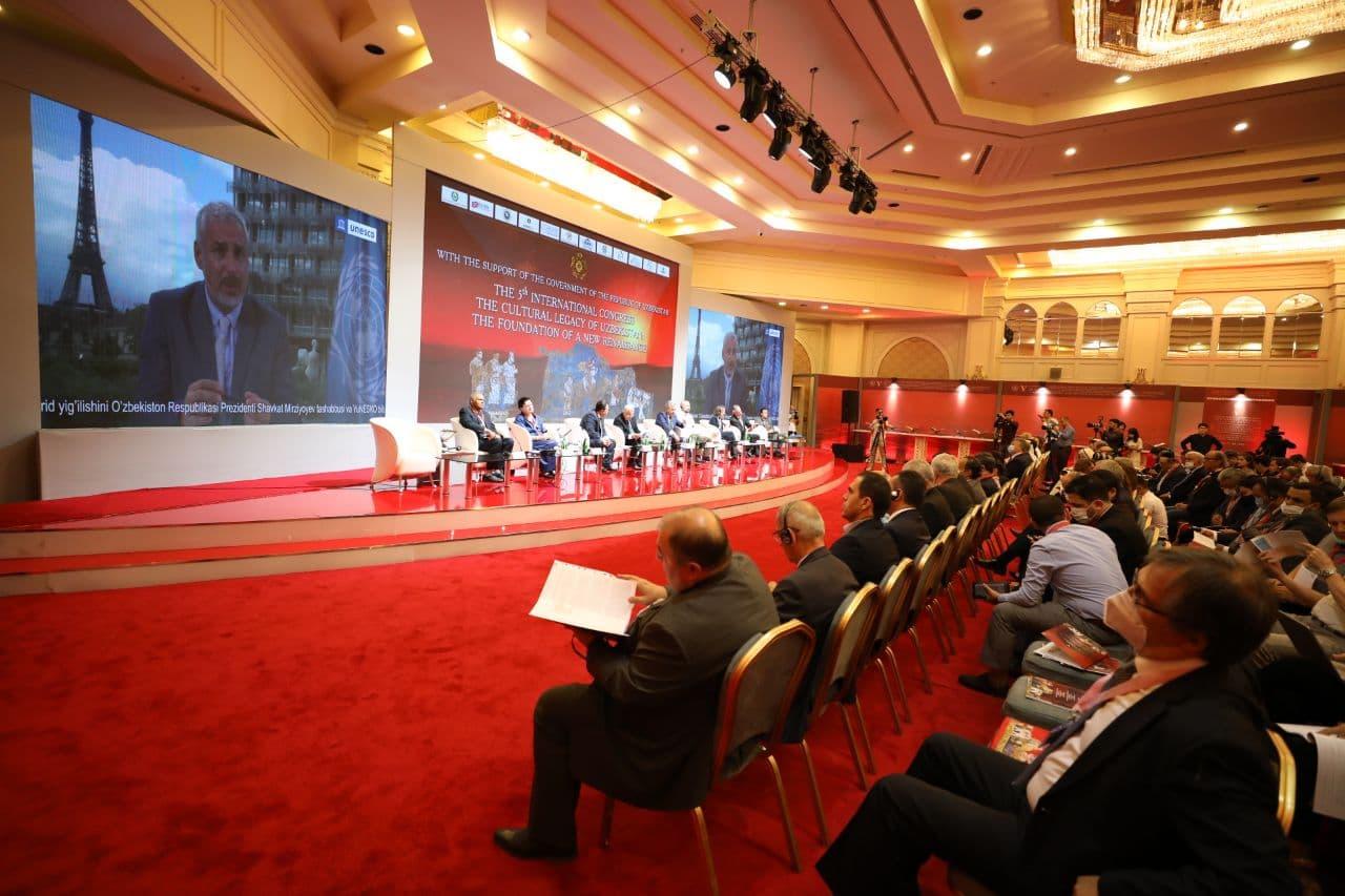 В Узбекистане состоялась Неделя культурного наследия и V юбилейный Конгресс Всемирного общества «Культурное наследие Узбекистана – фундамент нового Ренессанса»