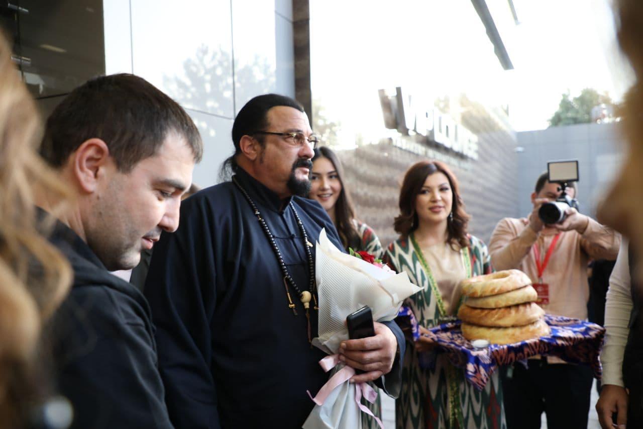 Стивен Сигал рассказал свои впечатления о Ташкентском кинофестивале