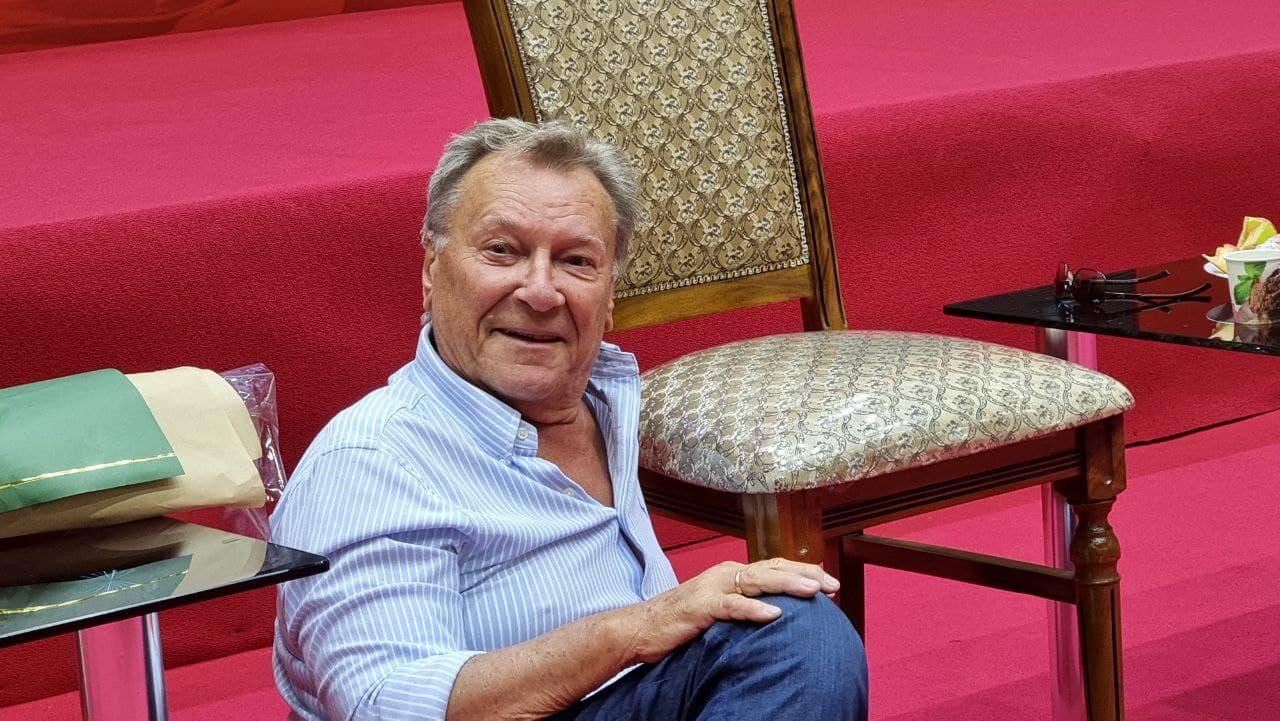 В концерне «Узбекфильм» прошёл мастер-класс известного российского актёра Сергея Шакурова