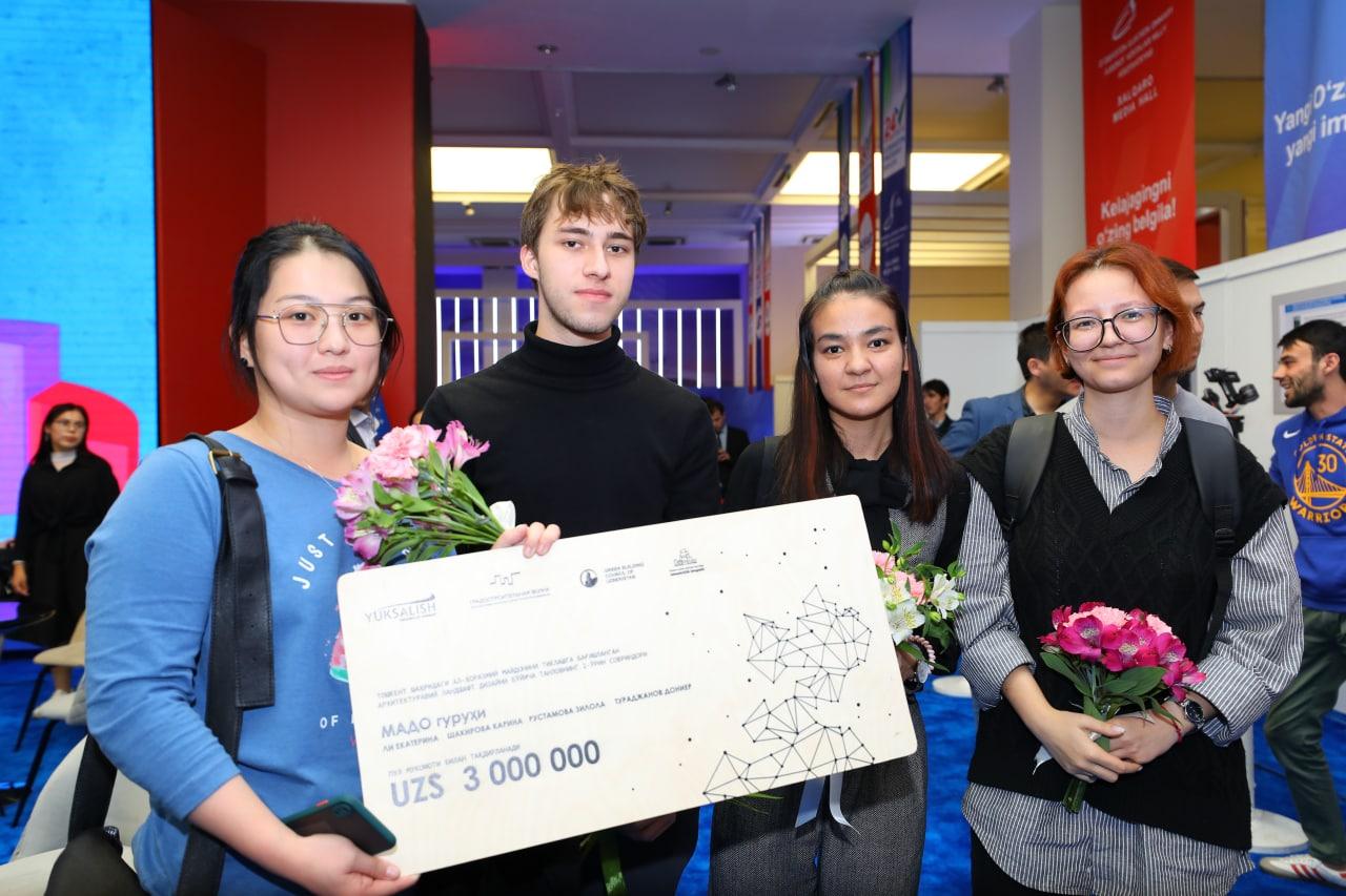 Движение «Юксалиш» наградило победителей двух конкурсов
