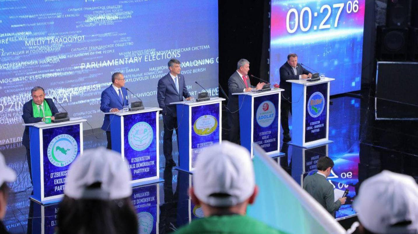 Межпартийная конкуренция: высказывания экспертов о первых в истории Узбекистана политических теледебатах